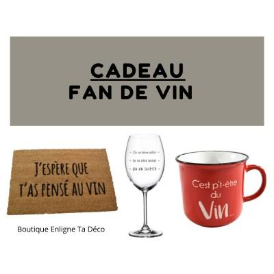 Cadeau Fan De Vin