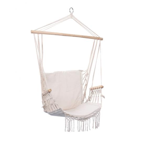 Chaise Hamac Naturelle À Frange