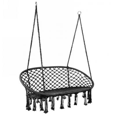 Fauteuil Double Suspendu Noir