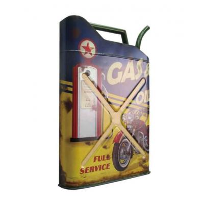 Cadre Vintage Bidon D'essence