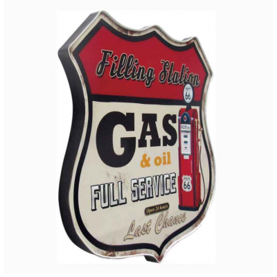 Cadre Vintage Coffee Gas And Oil