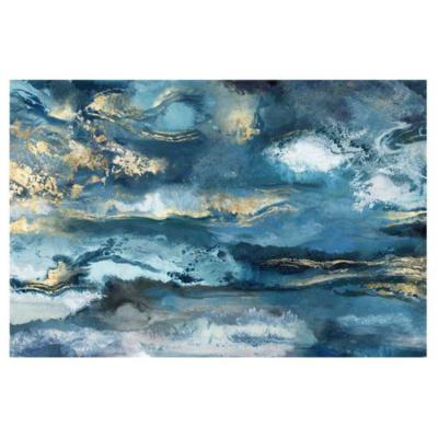 Cadre Abstrait Bleu