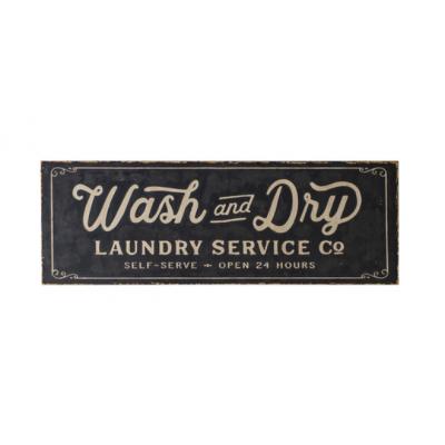 Cadre Métal Laundry Surdimensionné