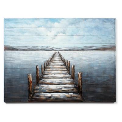 Cadre Quai Sur Le Lac