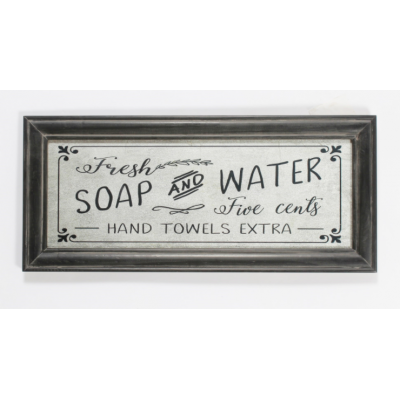 Cadre Soap & Water
