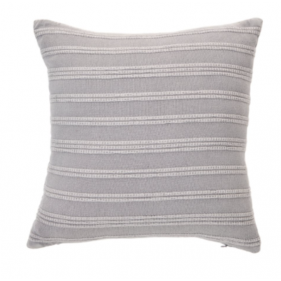 Coussin Gris Nantucket