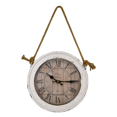 Horloge Blanc Antique