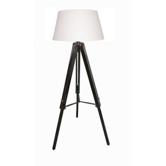Lampe Scandinave Trépied Noir Mat