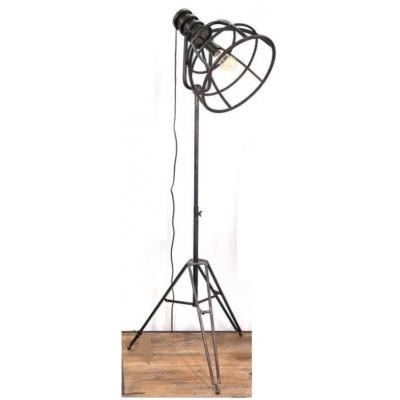 Lampe Sur Pied Industrielle Ted