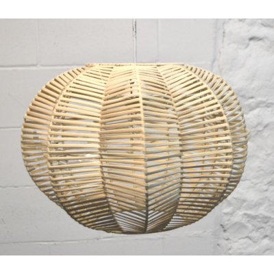 Luminaire Suspendu Rotin Naturel