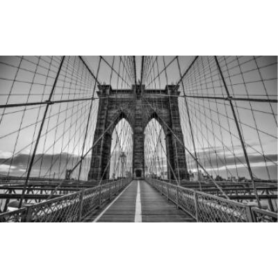 Murale Balade Sur Le Pont De Brooklyn